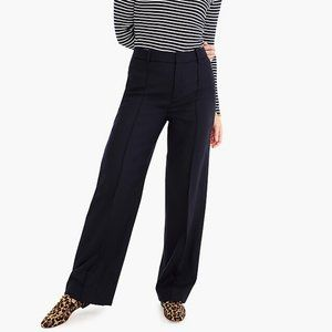 J. Crew Wool Flannel Full Length Trousers 6